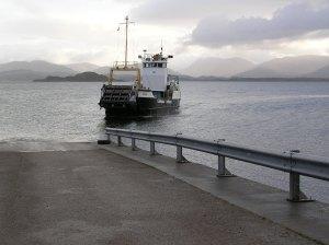 Big boat to Oban