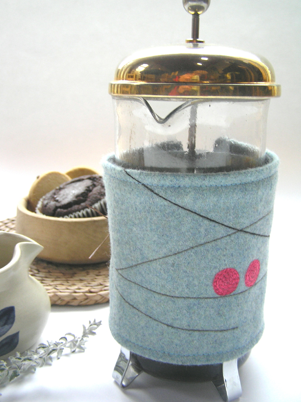 Berry Coffee cosy