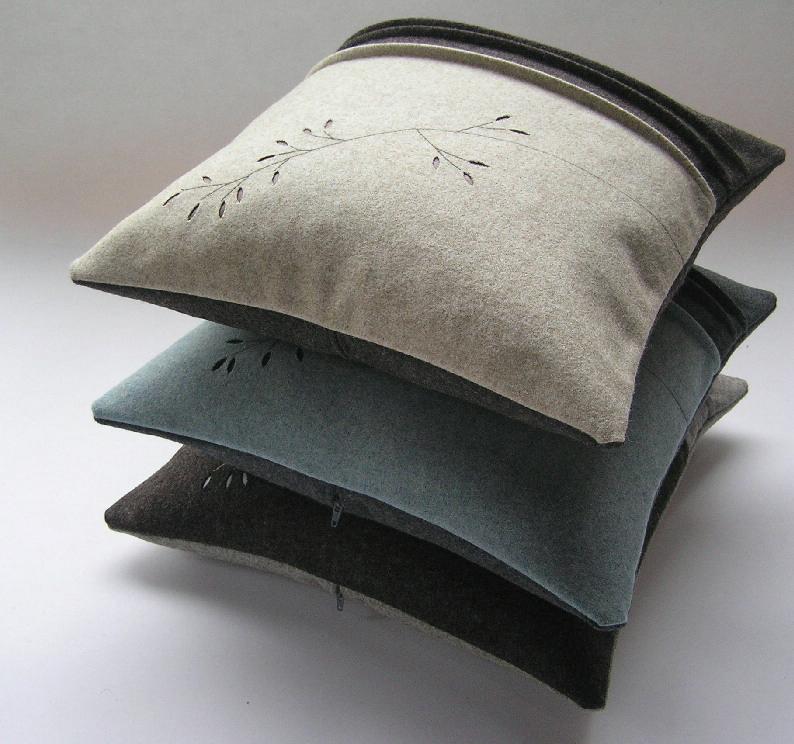 Grass cushions