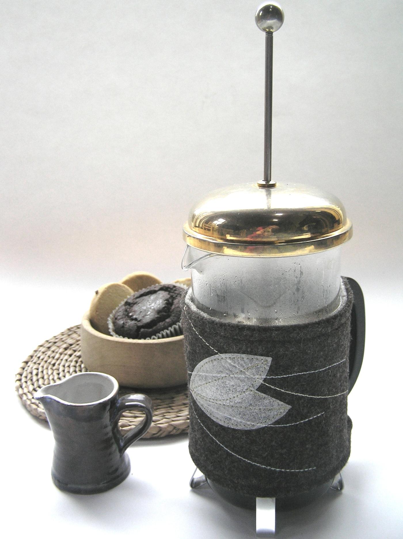 Leaf Coffee cosy