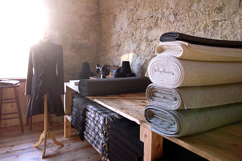 Mull weavers organic tweeds